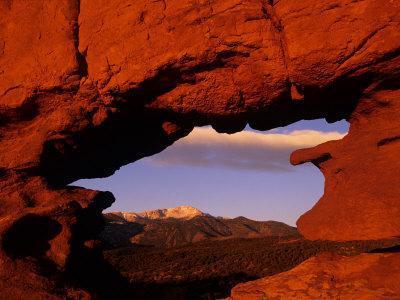 Legendary Pike's Peak, Garden of the Gods, Colorado Springs, Colorado