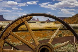 Monument Valley Tribal Park of the Navajo Nation, Arizona by Jerry Ginsberg