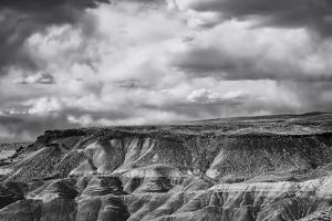 Painted Desert from Lacey Point, Petrified Forest National Park, Arizona by Jerry Ginsberg
