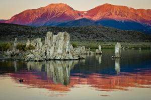 Spectacular Mono Lake in the shadow of the Eastern Sierras. by Jerry Ginsberg
