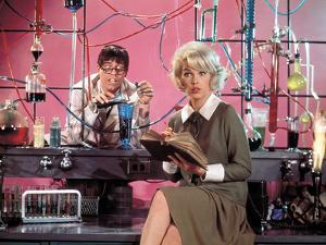 "Jerry Lewis; Stella Stevens. ""The Nutty Professor"" [1963], Directed by Jerry Lewis."
