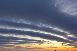 A Ship under Clouds over the Atlantic Ocean, Rye, New Hampshire by Jerry & Marcy Monkman