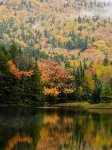 Ammonoosuc Lake in fall, White Mountain National Forest, New Hampshire, USA by Jerry & Marcy Monkman