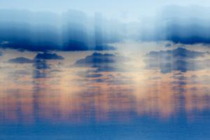Clouds over the Atlantic at Dawn, Rye, New Hampshire by Jerry & Marcy Monkman