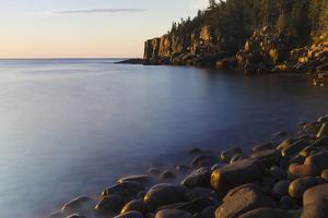 Dawn in Monument Cove in Maine's Acadia National Park by Jerry & Marcy Monkman