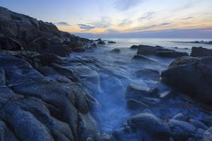 Dawn on Appledore Island, Maine. Isles of Shoals. by Jerry & Marcy Monkman