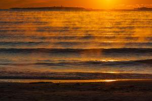 Dawn over the Atlantic Ocean at Wallis Sands SP in Rye, New Hampshire by Jerry & Marcy Monkman