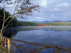 Fall Reflections in Chocorua Lake, White Mountains, New Hampshire, USA by Jerry & Marcy Monkman