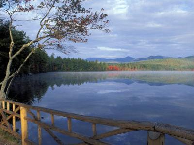 Fall Reflections in Chocorua Lake, White Mountains, New Hampshire, USA