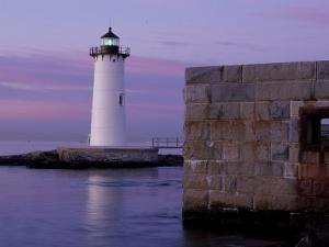 Fort Constitution, State Historic Site, Portsmouth Harbor Lighthouse, New Hampshire, USA by Jerry & Marcy Monkman