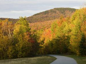 Franconia Notch Bike Path in New Hampshire's White Mountains, USA by Jerry & Marcy Monkman