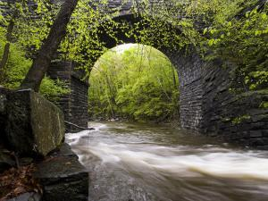 Keystone Arch on the West Branch of the Westfield River, Chester, Massachusetts, USA by Jerry & Marcy Monkman