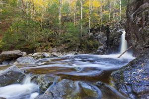 Kinsman Falls and Cascade Brook in New Hampshire's White Mountains by Jerry & Marcy Monkman