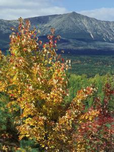Mt. Katahdin, Appalachian Trail, Maine, USA by Jerry & Marcy Monkman