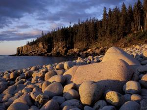 Otter Cliffs Fom Monument Cove, Maine, USA by Jerry & Marcy Monkman