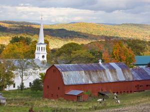 Peacham, Vermont, Usa by Jerry & Marcy Monkman