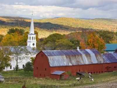 Peacham, Vermont, Usa