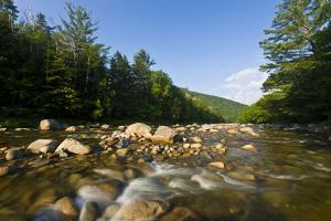 Pemigewasset River in New Hampshire's White Mountains by Jerry & Marcy Monkman