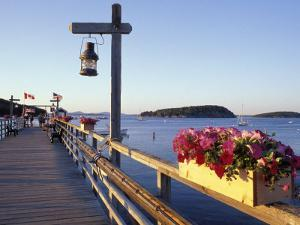 Pier at Frenchman Bay, Maine, USA by Jerry & Marcy Monkman