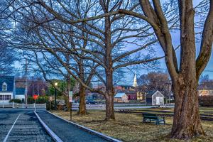 Prescott Park and Mechanic Street in Portsmouth, New Hampshire by Jerry & Marcy Monkman
