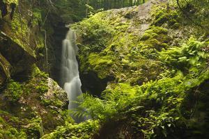 Royalston Falls in Royalston, Massachusetts. Falls Brook by Jerry & Marcy Monkman