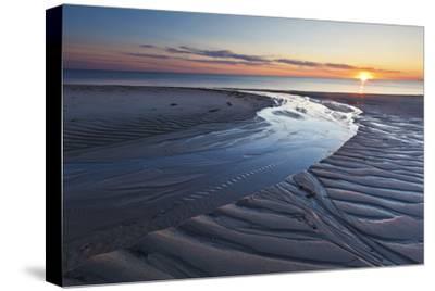 Sand Patterns at Sunset, Bound Brook Island, Wellfleet, Massachusetts