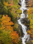 Fall Colors Reflect in the West River, Jamaica State Park, Vermont, USA-Jerry & Marcy Monkman-Photographic Print