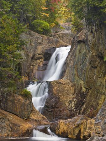 Smalls Falls Near Rangeley, Maine, Usa