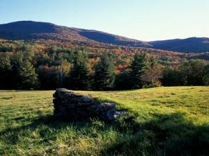 Stone Wall in the Green Mountains, Vermont, USA by Jerry & Marcy Monkman