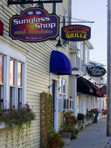 Street Scene in Wolfeboro, New Hampshire, USA by Jerry & Marcy Monkman