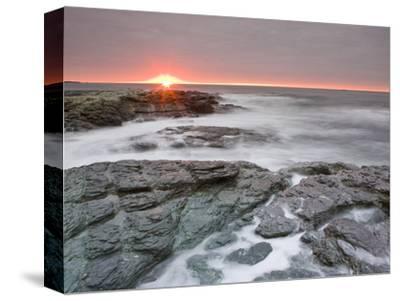 Sunrise Near Brenton Point State Park on Ocean Road in Newport, Rhode Island, Usa