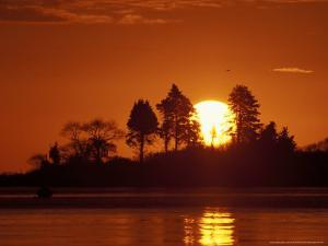 Sunrise over Odiorne Point, New Hampshire, USA by Jerry & Marcy Monkman