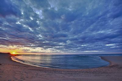 Sunset over Meadow Beach, Cape Cod National Seashore, Massachusetts