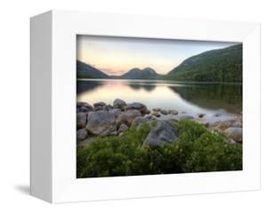 The Bubbles and Jordan Pond in Acadia National Park, Maine, USA by Jerry & Marcy Monkman