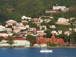 The Harbor at Charlotte Amalie, St. Thomas, Caribbean by Jerry & Marcy Monkman