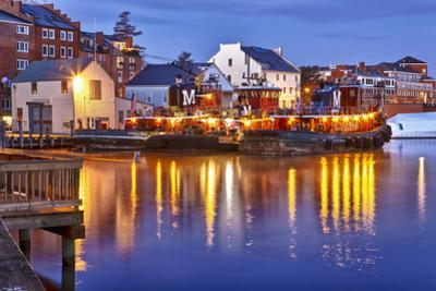 The Moran Tugboats on the Portsmouth, New Hampshire Waterfront