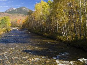 The Percy Peaks rise above Nash Stream, Stark, New Hampshire, USA by Jerry & Marcy Monkman