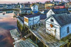 The South End at Dawn, Portsmouth, New Hampshire by Jerry & Marcy Monkman