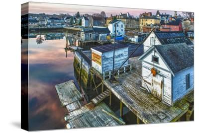 The South End at Dawn, Portsmouth, New Hampshire