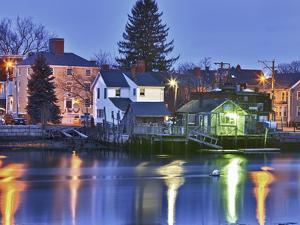 The South End of Portsmouth, New Hampshire by Jerry & Marcy Monkman