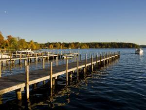 View of Lake Winnipesauke, Wolfeboro, New Hampshire, USA by Jerry & Marcy Monkman