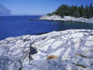 Western Head Trail, Penobscot Bay, Isle Au Haut, Maine, USA by Jerry & Marcy Monkman