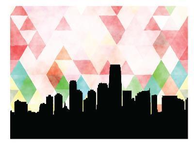 Jersey City Triangle--Art Print