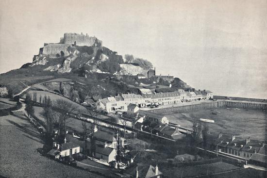 'Jersey - Gorey, and Mont Orgueil Castle', 1895-Unknown-Photographic Print