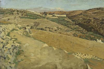 Jerusalem and Siloam, South Side from 'The Life of Our Lord Jesus Christ'-James Jacques Joseph Tissot-Giclee Print