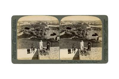 Jerusalem as Seen from the Damascus Gate, Palestine, 1901-Underwood & Underwood-Giclee Print