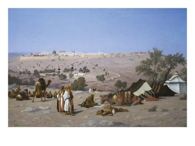 Jerusalem from the Environs-Charles Theodore Frere-Art Print