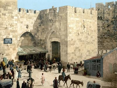 Jerusalem: Jaffa Gate--Photographic Print