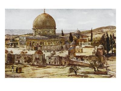 Jerusalem: Mosque of Omar (Dome of the Rock)--Giclee Print