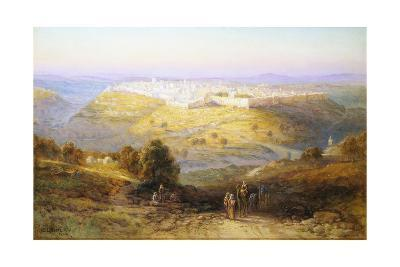 Jerusalem the Golden (Israel)-Samuel Lawson Booth-Giclee Print